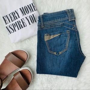 {Jolt} Dark Wash Skinny Jeans